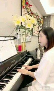 @松叶叶?? 钢琴弹唱意大利语美声经典《重归苏莲托》#爱唱歌的松叶 #花椒音乐人 #主播的高光时刻