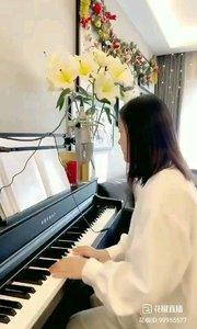 @松叶叶?? 钢琴弹唱《画》#爱唱歌的松叶 #花椒音乐人 #主播的高光时刻