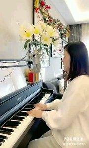 @松叶叶?? 钢琴弹唱《天边》#爱唱歌的松叶 #花椒音乐人 #主播的高光时刻