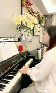 @松叶叶?? 钢琴弹唱英语经典《爱的力量》#爱唱歌的松叶 #花椒音乐人 #主播的高光时刻