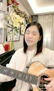 @松叶叶?? 吉他弹唱英语经典《什锦菜》#爱唱歌的松叶 #花椒音乐人 #主播的高光时刻
