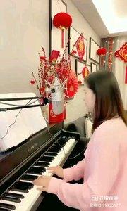 @松叶叶?? 钢琴弹唱一首优美浪漫的英文歌曲《玫瑰?》#爱唱歌的松叶 #花椒音乐人 #主播的高光时刻