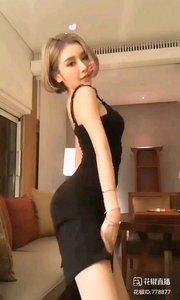 @小喵大宝 #性感不腻的热舞 黑色,优雅而高贵,猫一般的女人,神秘而迷人