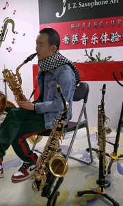 靳崢演奏《夢中的爾吉》#薩克斯 上低音#純音樂 薩克斯風#演奏 #管樂