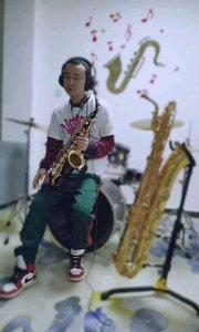 靳崢薩克斯演奏《紙短情長》#薩克斯 #純音樂 #演奏