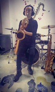 上低音薩克斯風演奏《鴻雁》#演奏 #薩克斯 #純音樂