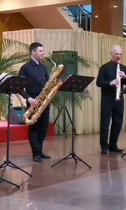 烏克蘭大師,尤里老師帶來的四重奏。#薩克斯 #純音樂 #花椒音樂人