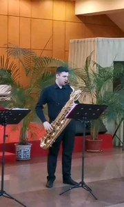 烏克蘭薩克斯風四重奏-《我和我的祖國》#薩克斯 #花椒音樂人 #純音樂 #演奏