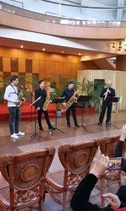 烏克蘭薩克斯風大師-尤里老師-薩克斯風四重奏#薩克斯 #純音樂 #演奏