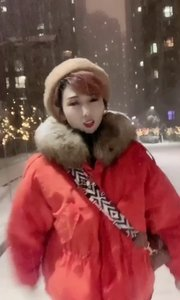 沈阳的第一场雪❄️!