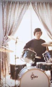 我相信(drum cover)