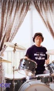 不再犹豫(drum cover)