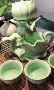 莲花自动茶具