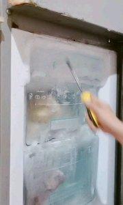 闲得慌,在家折腾老冰箱。