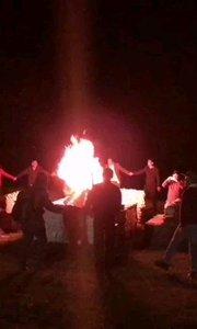 混序小伙伴一起篝火舞会之青海湖