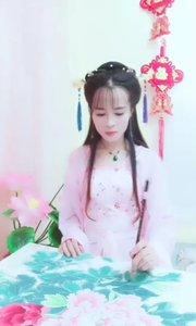 中國傳統文化藝術,工筆牡丹。