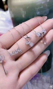 #我怎么这么好看 纯银项链,总有一款是你喜欢的