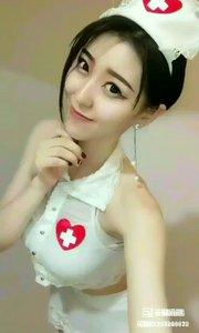 #完美情人 #绣球能量波  护士装风情?