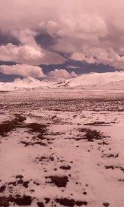 五月份海拔4700米高山上的积雪,你见过吗?