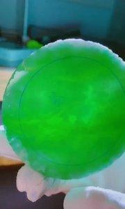 阳绿手镯定制