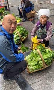 光头哥早上买青菜