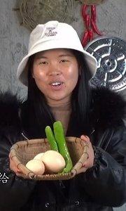 青辣椒炒鸡蛋,家常菜