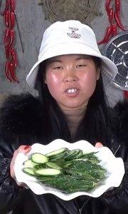 黄瓜炒鸡蛋,家常菜