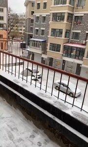 下雪了❄️……