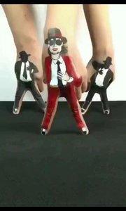 手指也可以像人一样跳舞。