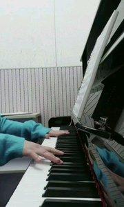 #The first Noel #Christmas Carol? #Good bye Christmas?☃️   I like real piano 好久没弹真真的钢琴???