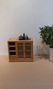 新中式禅意茶【嘀~】,一花一世界,一木一浮生,一种品位,一种格调,独处一隅,品淡淡茗香,只需心境空灵,一切皆成禅。#新中式家具 #禅意家具 #实木家具