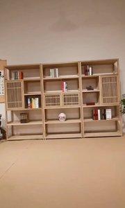 #全屋家具定制 #新中式家具 #新中式书柜
