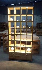 #新中式展柜#新中式家具#家具定制#展示柜#博古架#禅意家具
