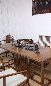 #新中式茶桌#新中式家具#家具定制#茶桌椅#禅意家具#