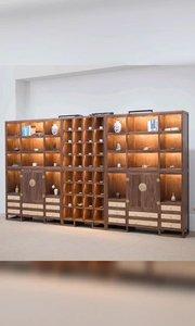 #新中式家具#书柜#博古架#定制家具#