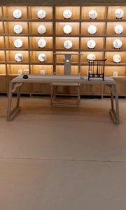 在我众多爱好中,最喜欢的还是书法,怎能少了铺六尺纸书法桌#书法桌#画案#定制家具#新中式家具 #书房设计#