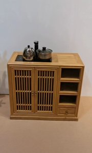 茶【嘀~】不仅是一件家具,更是作为装饰物点缀你的客厅#茶【嘀~】#新中式家具#餐边柜#定制家具#全屋定制#