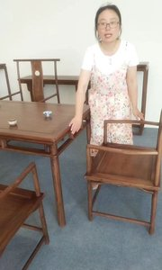 茶桌椅顾名思义就是休闲品茶的,凸显茶文化#新中式茶桌#新中式家具#定制家具#茶桌椅#禅意茶桌#全屋定制#