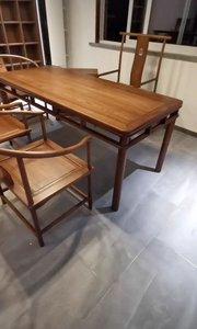 明清家具造型简练,结构严谨,蕴藏了丰富的历史文化#新中式家具#定制家具#全屋定制#茶桌椅#新中式茶桌#