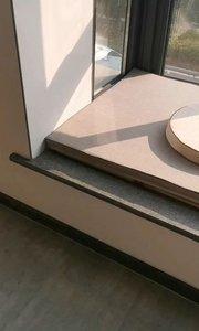 良好的通风和采光,炕桌配上飘窗垫,增添了一丝禅意#飘窗垫#榻榻米#炕桌#定制家具#胡桃木家具#