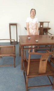 可以做茶桌,餐桌,书法桌,办公桌的充满禅意的桌子大家见过吗?#茶桌椅#新中式茶桌#禅意家具#定制家具#