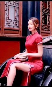 模特小姐姐。#春暖中国