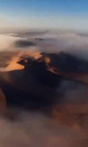 清晨沙漠?你好!