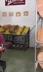 今天和大师切磋,过人不同凡响呀!#吉他视频