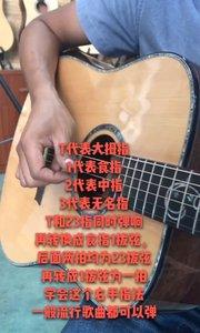 #吉他教学 新手学吉他观看视频多加练习