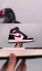 C0X9S3  Air Jordan 1High OG AJ1 乔丹1代高帮篮球鞋/红钩黑脚趾