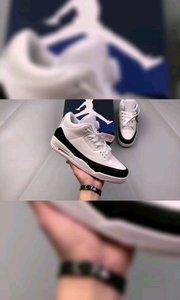 """#乔丹AJ3代 白黑色 藤原浩 闪电联名 Fragment Design x Air Jordan 3 整双鞋以经典百搭的黑白主题呈现,鞋面使用质感极佳的皮革材质打造,白色鞋身搭配黑色包边,后跟部位压印有 Fragment Design 标志性的闪电 Logo。白色中底上印有黑色字符,鞋舌内侧同样缝有 """"fragment"""" 标签,多处细节都彰显联名身份。最大亮点在后跟部位,透明的 Jumpman Logo 搭配黑色 """"AIR"""" 字样,内层显现醒目的大闪电 Logo,""""盖章"""" 位置更显眼,瞬间提升了整双鞋的"""