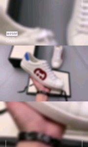 ?全网首发#Gucci古驰【嘀~】?经典高奢#古驰GUCCI古驰 Ace Embroidered Low-Top拼色刺绣系列低帮潮流百搭休闲板鞋