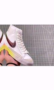 Nike Blazer Mid VNTG QS 复古经典中帮开拓者 炫彩 颇具辨识度的开拓者将于今年回归登场,此次后跟加入泼墨元素,头层包头设计简约大气经典再现!