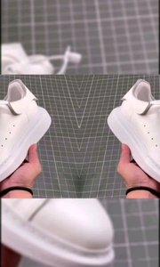 McQ麦昆顶级麦昆原版皮料白色进口丝绸- 麦昆 经典明星爆款百搭小白鞋??回头率100%